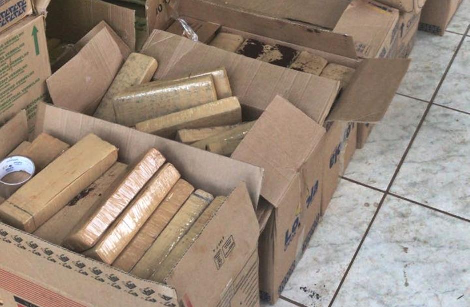 PM apreende 1,5 tonelada de maconha em Aparecida de Goiânia