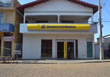 Bandidos levam cofre de agência bancária após assalto em Vianópolis