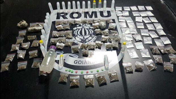 Guarda Civil acaba com festa com menores de idade, drogas e bebidas alcoólicas
