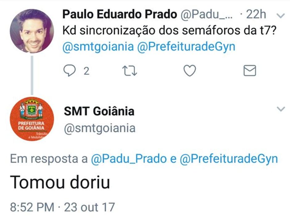 Após confusão com internauta, SMT encerra conta no Twitter
