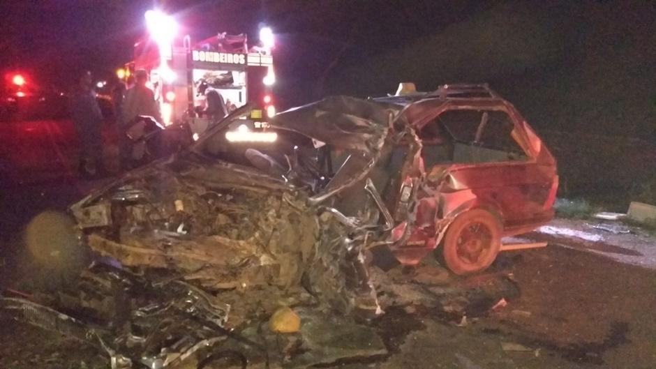 Acidente mata idoso e criança e deixa três feridos na GO-154, em Santa Terezinha de Goiás