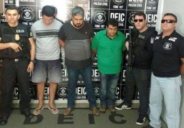 Trio é preso por comprar 72 aparelhos de ar condicionado de forma fraudulenta