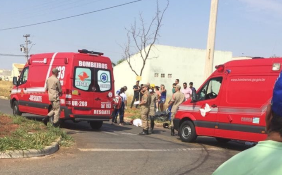 Motociclista morre após batida com caminhonete, no Setor Moinho dos Ventos