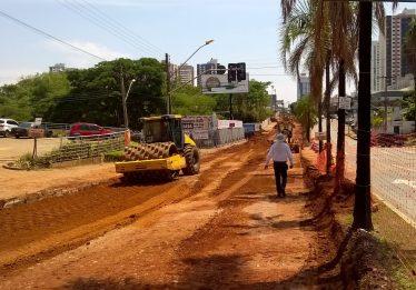 Primeira etapa de obras do BRT deve ser retomada na próxima semana