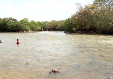 Continuam buscas pelo corpo de jovem de 15 anos desaparecido em rio, em Luziânia