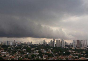 Em Goiás, a previsão é de chuva durante todo o fim de semana