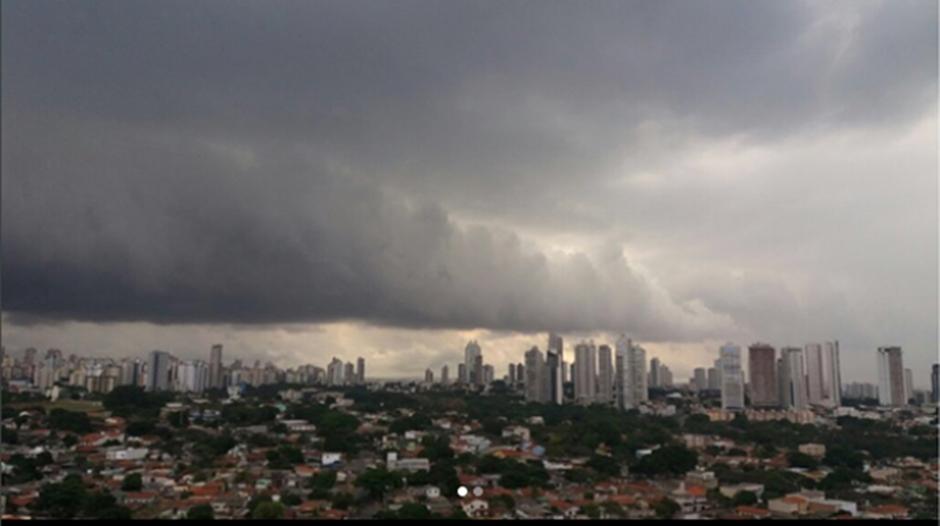 Inmet prevê mais chuva para esta sexta-feira (06) em Goiânia