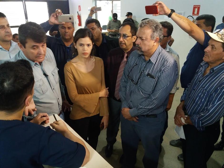 Vereadores fazem visita surpresa ao Ciams Novo Horizonte