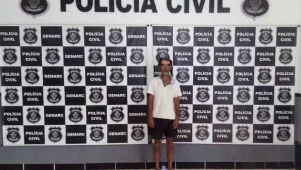 Homem é preso por espancar a própria mãe, em Goianésia