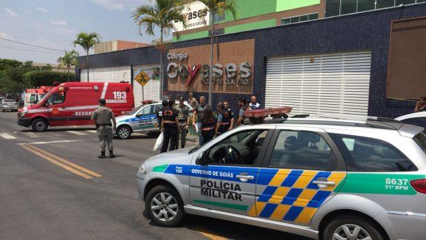 Adolescente que atirou em colegas em escola de Goiânia continua internado