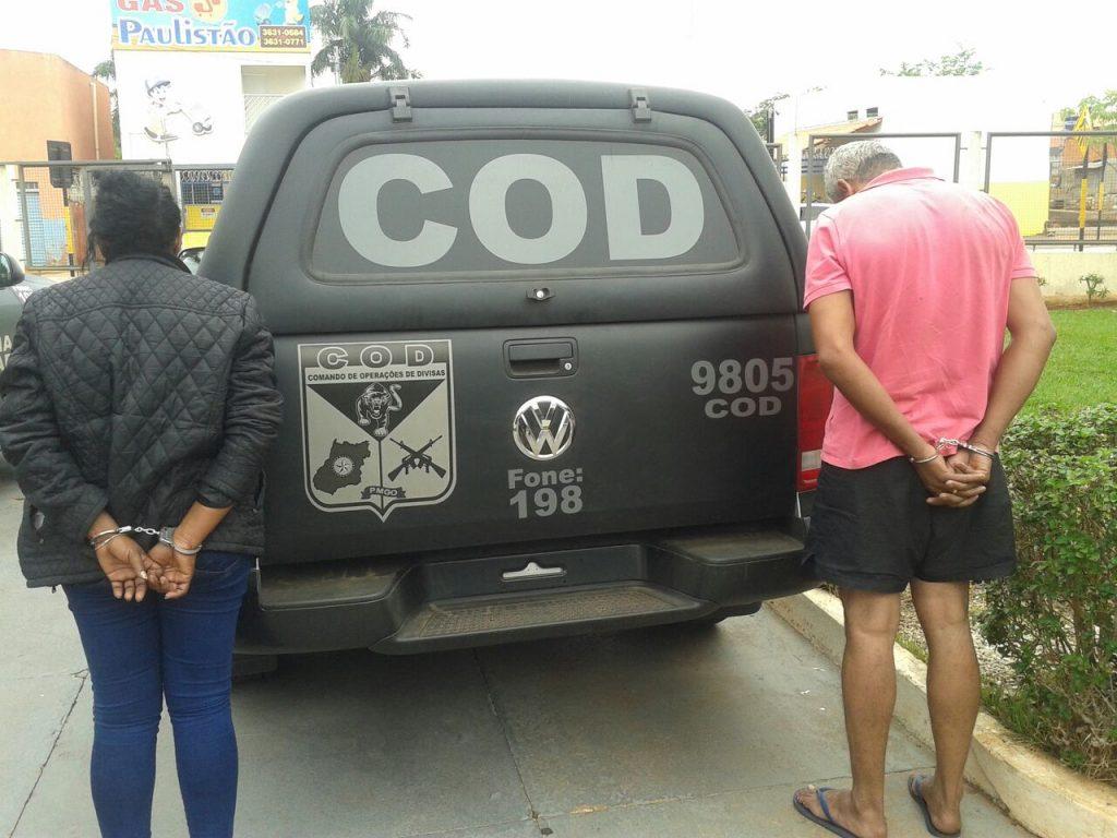 COD aborda paraguaia com cerca de dois quilos de cocaína
