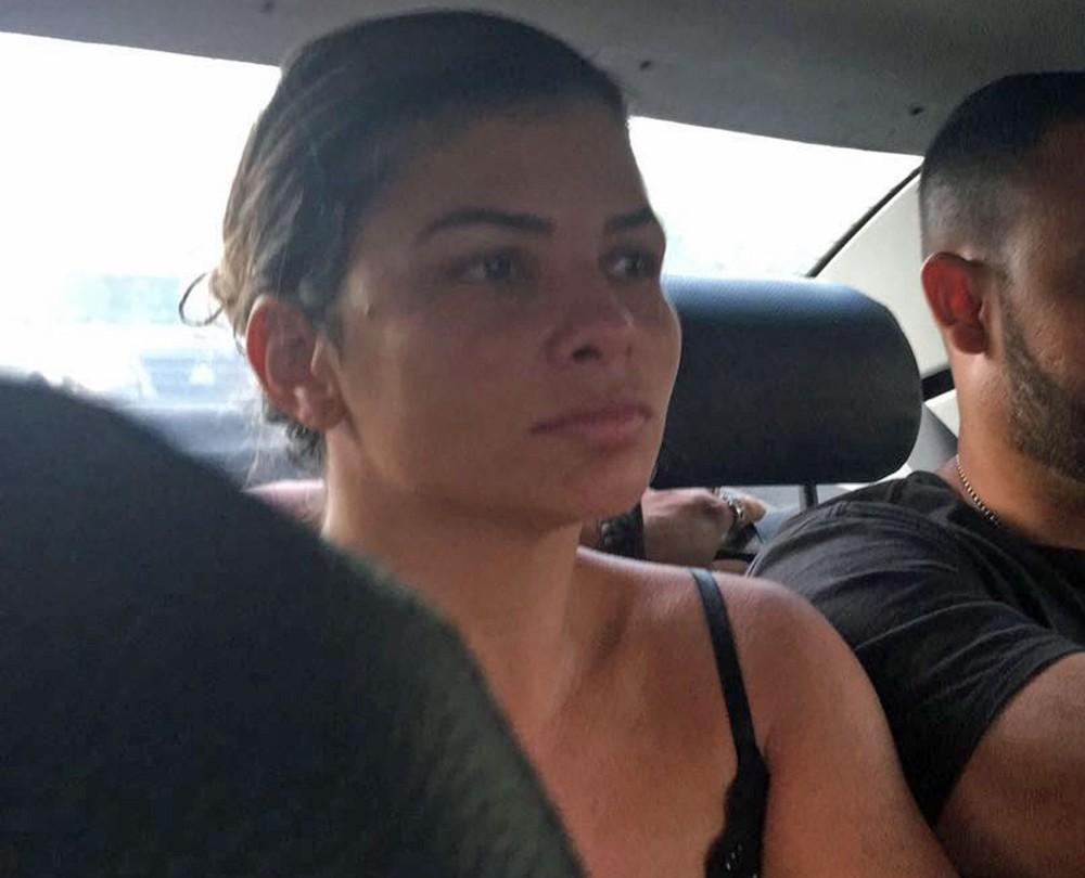 Danúbia Rangel, mulher do traficante Nem da Rocinha, é presa no Rio