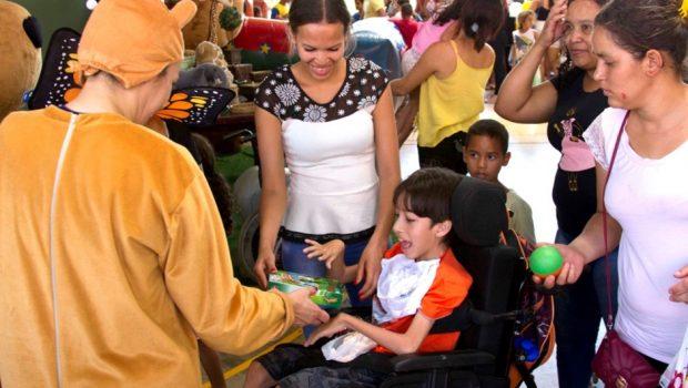 Crer faz festa terapêutica para comemorar o Dia das Crianças