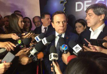 Em Goiânia, João Doria declara apoio à Marconi para presidência nacional do PSDB