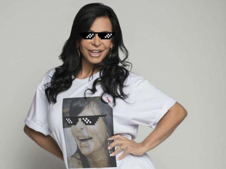 Gretchen lança camisetas com seus memes