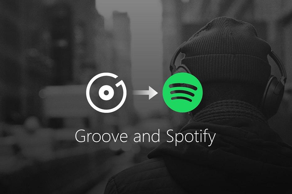 Microsoft desiste de seu serviço de streaming e faz parceria com Spotify