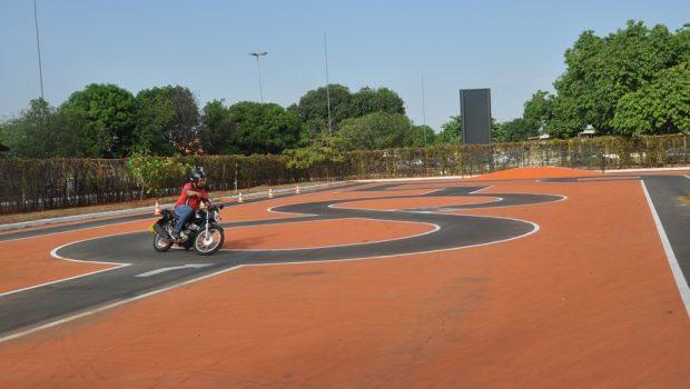 Detran-GO inaugura 17ª pista-padrão para provas de CNH