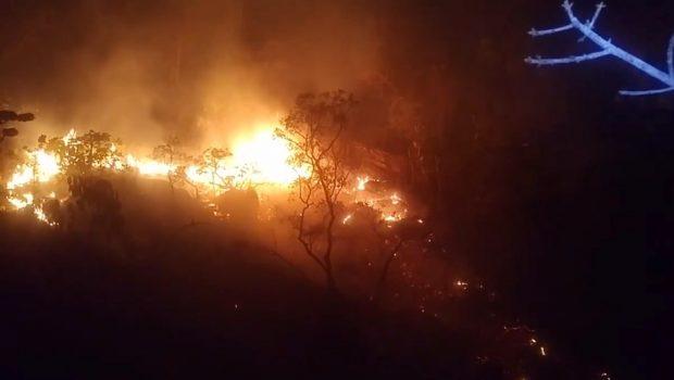 Chapada dos Veadeiros segue sem previsão de reabertura por causa de incêndio