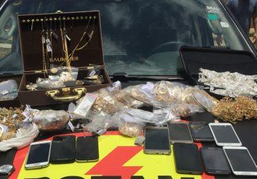 Joias roubadas no Setor Sudoeste são encontradas na Chácara Recreio São Joaquim