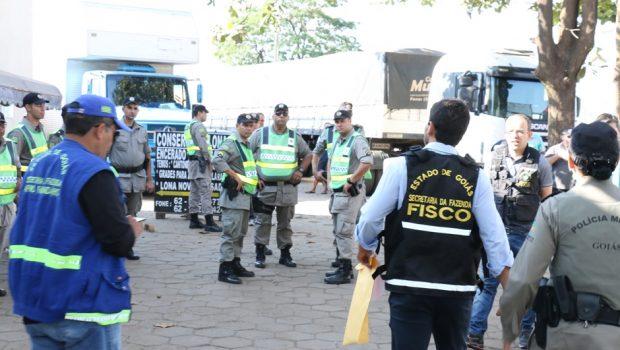 Operação constata irregularidades em transporte de cargas em Goiás