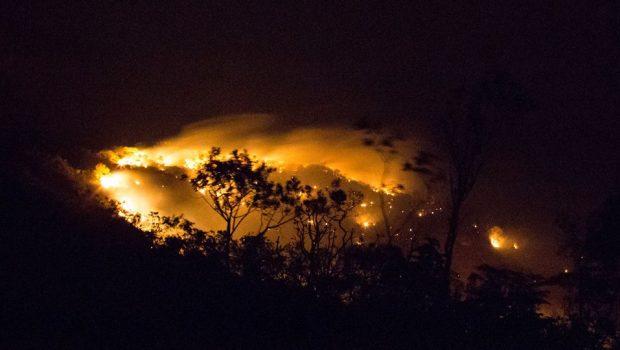 Incêndio na Chapada dos Veadeiros pode ser controlado até este fim de semana