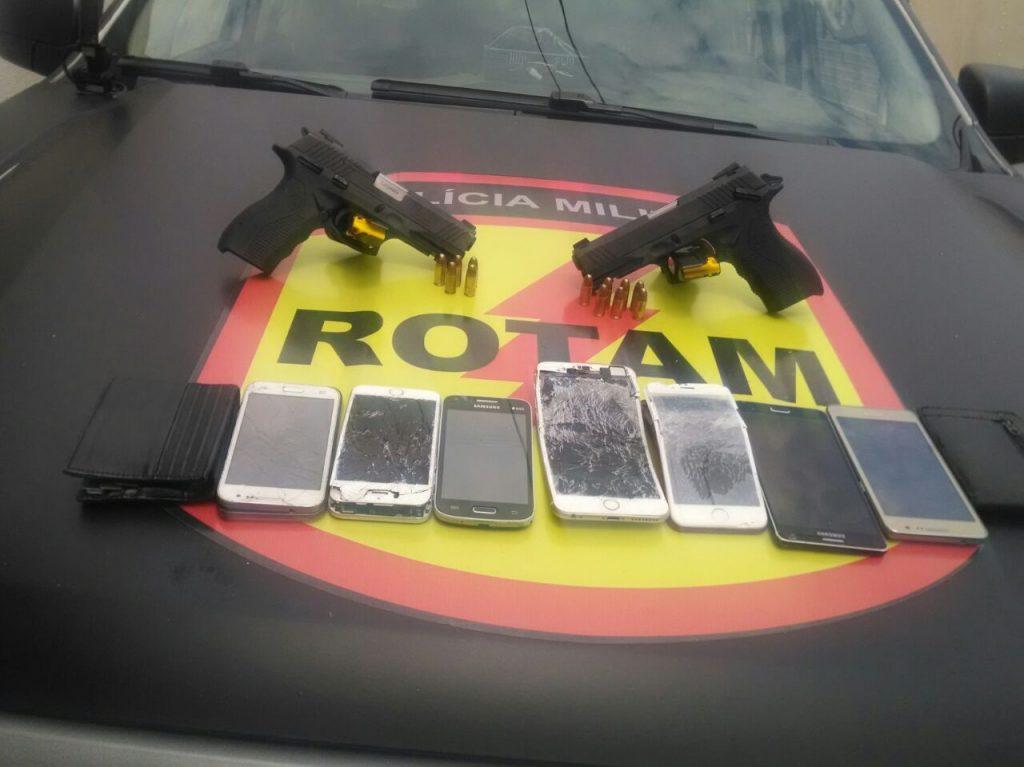 Dois integrantes do Comando Vermelho morrem em confronto com equipe da Rotam