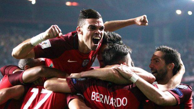Portugal passa pela Suíça e garante vaga direta na Copa