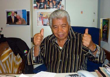 Assistente de palco de Silvio Santos, Roque é internado na UTI