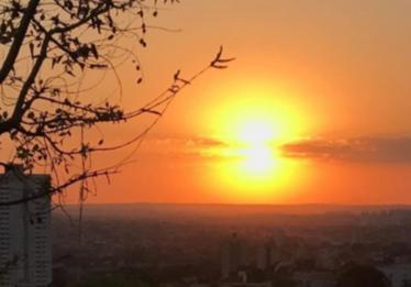 Temperatura chega a 39,4ºC nesta segunda-feira em Goiânia