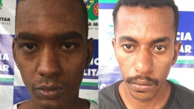 Dois homens são presos por roubo a pontos de ônibus