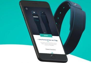 Trigg lança no Brasil pulseira que substitui cartão de crédito