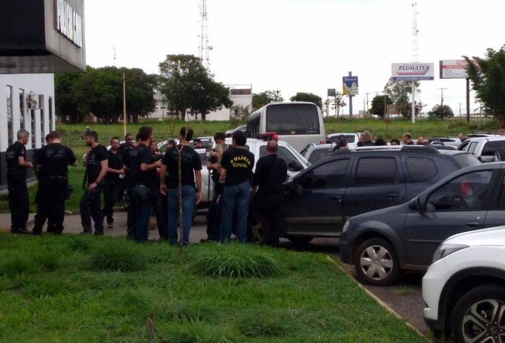 Ladrões de carga são presos em operação das polícias civis de Goiás e do DF