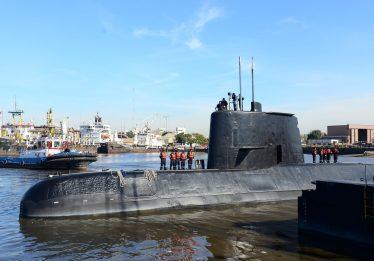 Argentina mantém buscas por submarino desaparecido com 44 tripulantes