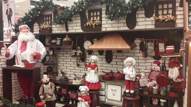 Papai Noel chega ao Shopping Cerrado neste domingo