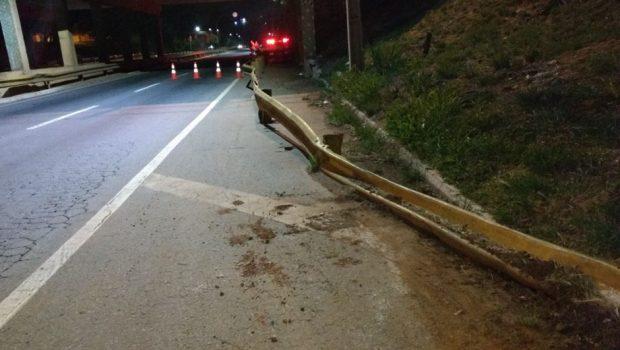 Motociclista morre em acidente na Marginal Botafogo