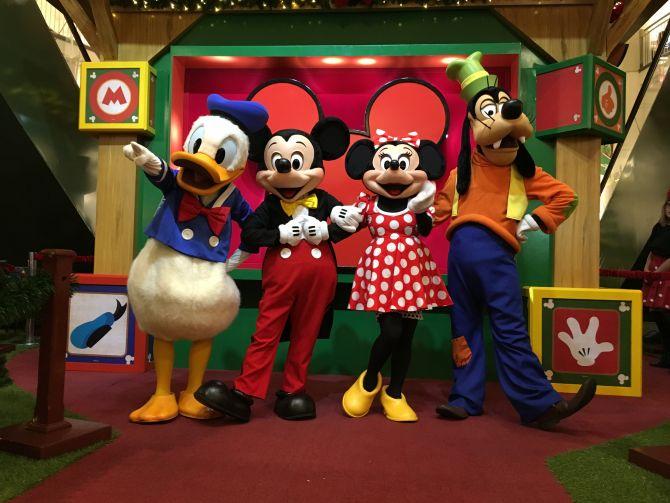 Goiânia Shopping prepara Natal do Mickey com orquestra sinfônica