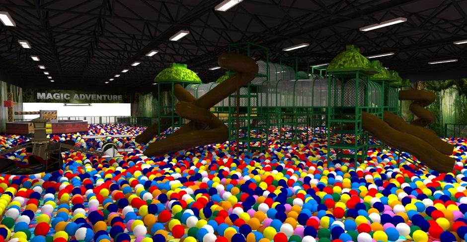 Goiânia recebe a Magic Adventure, maior piscina de bolinhas do mundo