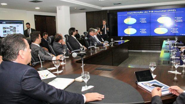 Marconi reforça planejamento para Goiás continuar crescendo nos próximos 20 anos