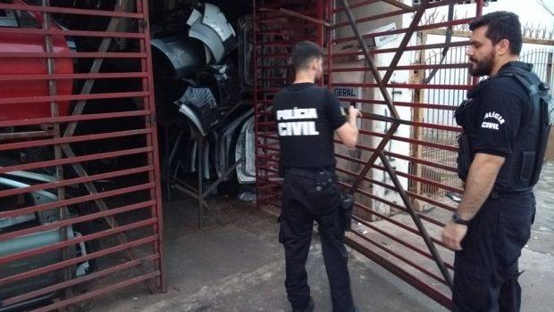 Polícia Civil prende 20 suspeitos de roubo de veículos e tráfico de drogas