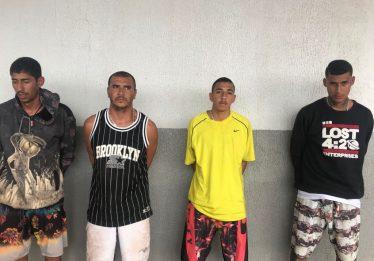 Grupo é preso com cerca de 20 litros de lança perfume e seis tabletes de maconha no Entorno do DF