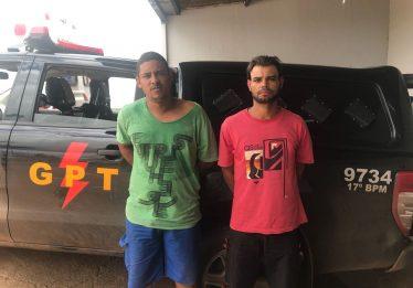 Dupla é presa logo após realizar assalto em Águas Lindas de Goiás
