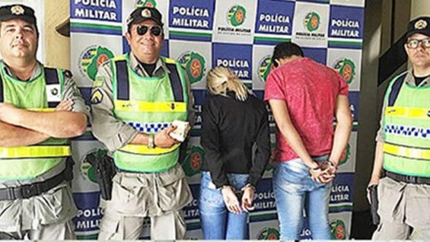 Casal tenta subornar policiais militares e são presos em flagrante