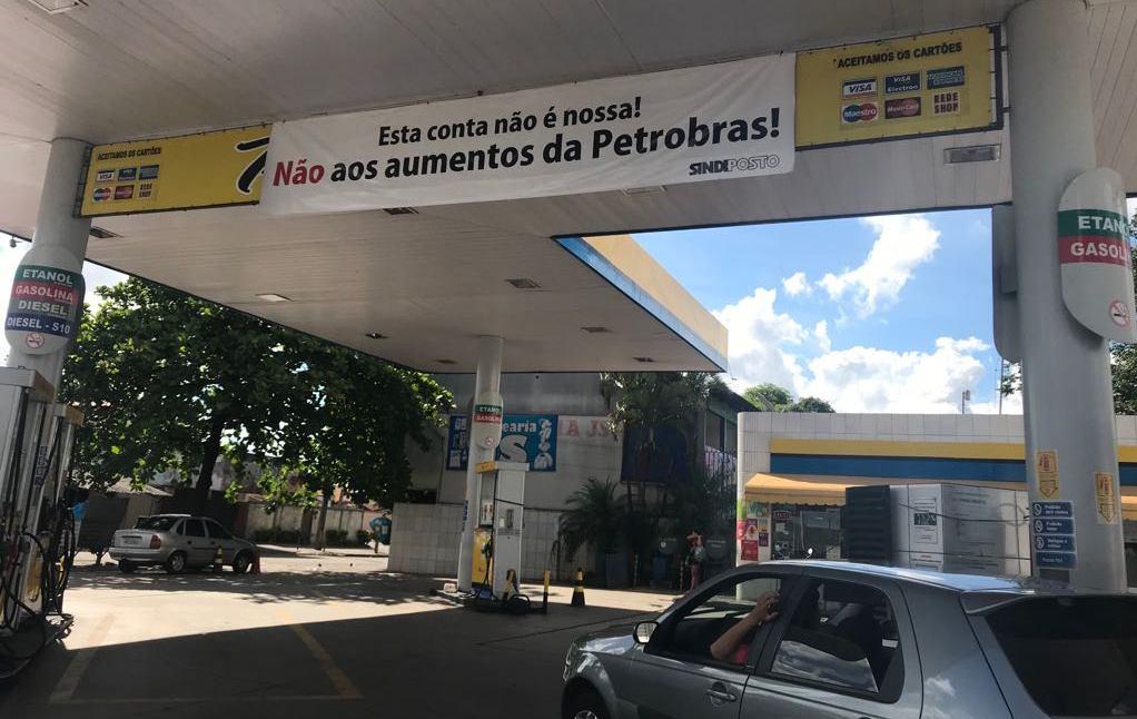 Sindicato teme desabastecimento devido a protestos contra o preço dos combustíveis