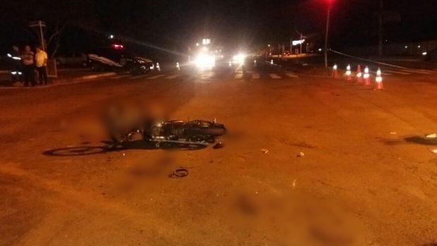 Motociclista morre em acidente com ônibus do transporte coletivo, no Goiânia 2