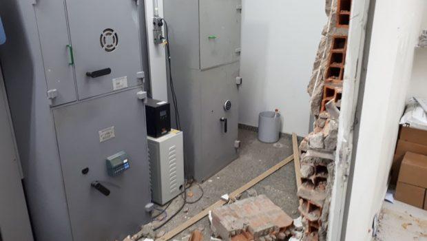 Bandidos invadem agência bancária em Fazenda Nova