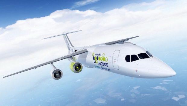 Airbus, Rolls-Royce e Siemens vão desenvolver um avião híbrido