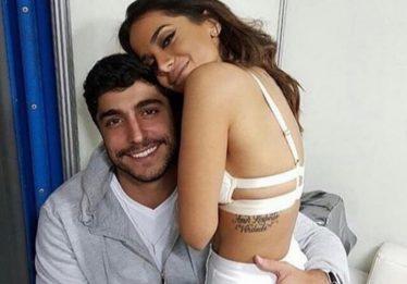 Anitta e Thiago Magalhães assinam contrato de união estável