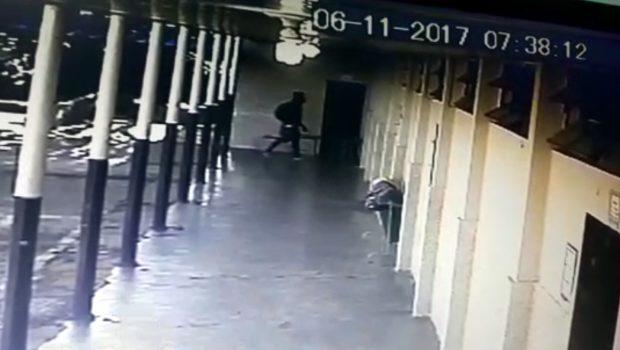 Vídeos de câmeras de segurança mostram atirador no Colégio 13 de Maio, em Alexânia