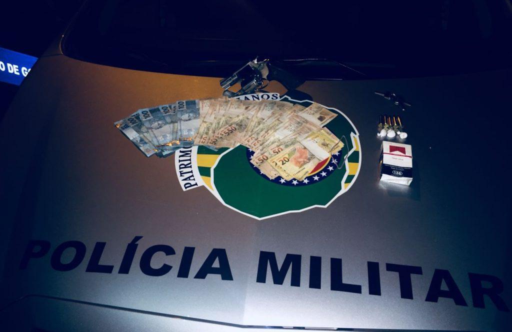 Polícia Militar prende homem que procurava ex-companheira para matá-la, em Águas Lindas