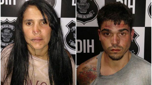 Casal é preso por matar e violentar filho de 2 anos no Setor Real Conquista, diz polícia
